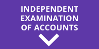 Choice Bookkeeping block Independent examination of accounts